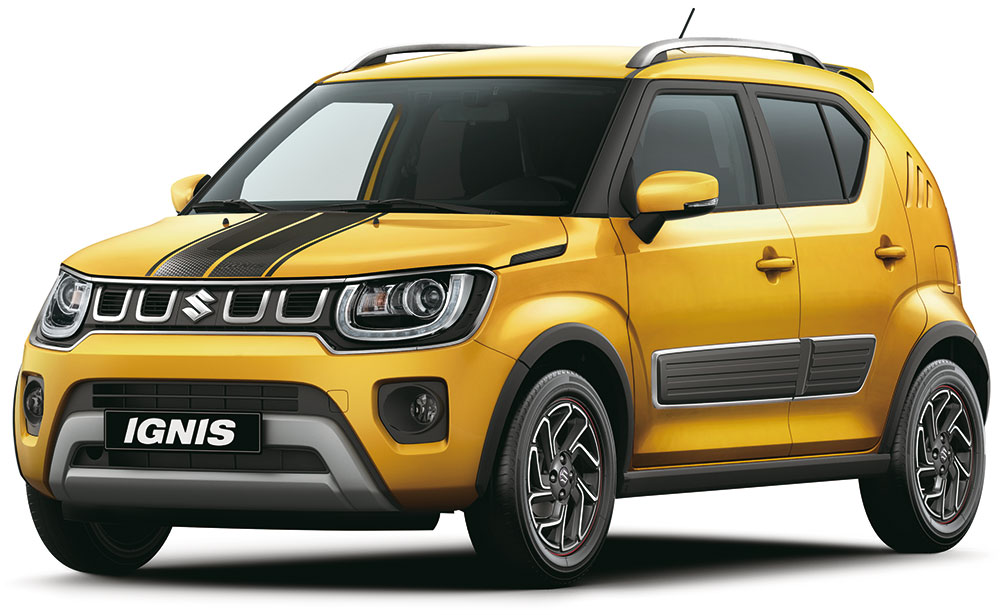 ignis suv front